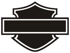 Pix For > Harley Logo Outline