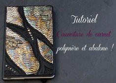 Une petite couverture de carnet avec les feuilles métalliques abalone de Fimo. Une petite idée cadeau pourquoi pas. En fin de vidéo vous verrez une autre uti...