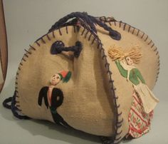 Hey, I found this really awesome Etsy listing at http://www.etsy.com/listing/96974990/vintage-handmade-linen-purse-mexican