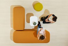 Karo Ottomans from Schiavello encourage collaborative catchups with friends and colleagues. Public Hotel, Breakout Area, Aged Care, Community Space, Function Room, Upholstered Ottoman, Hospitality Design, Cafe Design, Restaurant Design