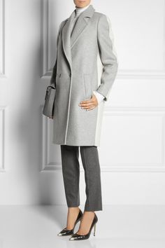 Stella McCartney|Double-breasted wool-blend coat