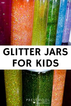 Need a simple and easy calm down jar or glitter jar? These calming bottles can be made several different ways. Here are six glitter bottle recipes.
