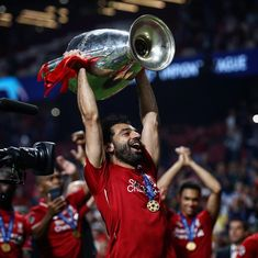 ♥️♥️ _________ You create the history _________ My hero my star Ynwa Liverpool, Salah Liverpool, Liverpool Players, Liverpool Football Club, Egyptian Kings, Mo Salah, Mohamed Salah, Best Club, Soccer Stars