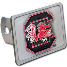 South Carolina Gamecocks NCAA Logo Hitch Cover