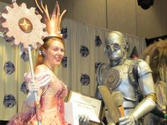 REFERENCE: for steampunk Costumes & Staging !! - MIGHT be helpful at some point in time!  ~~~~~~~~~~~~   Steampunk Wizard of Oz Group, Costume Contest at Dragon Con!  Costumes by Penny Dreadful Productions.