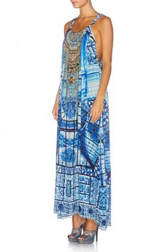 Power of Prayer drawstring dress