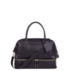 Women's Black Faux Leather Large Satchel | Sia by Sole Society perfect carry on!