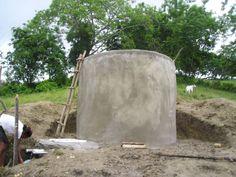 Ferro-Cement Tank Construction - Dominican Republic