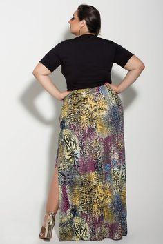 Saia Longa #Xiquete - VK Moda Plus Size