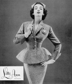 I need a Lilli Ann suit! Seriously!