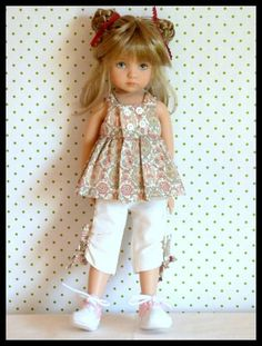 - August 03 2019 at Sewing Doll Clothes, Crochet Doll Clothes, Girl Doll Clothes, Sewing Dolls, Girl Dolls, American Girl Outfits, American Doll Clothes, Beautiful Barbie Dolls, Pretty Dolls