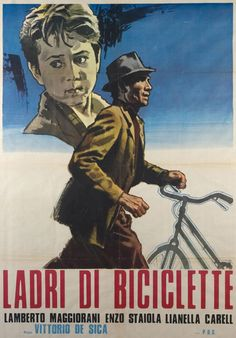 Italian Movies ~ #movies #film #director #Italianmovies #cinema ~ Ladri di Biciclette (The Bicycle Thief) one of the Italian Cinema Masterpiece by Vittorio De Sica, 1948