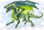 Green Dragon by Naseilen