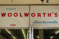 I remember my grandmother taking me shopping at Woolworth's. She bought me a yellow cat purse.