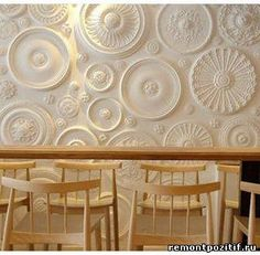 Дизайн стен в квартире: молдинги, ниши, светодиодные подсветки, лепнина – классическая и ажурная