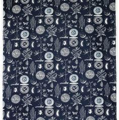 BLÅVINGE tela €4,99/m An 150 cm. Azul/blanco 602.2...