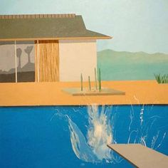 Make a splash! (David Hockney)