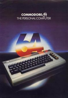 Commodore 64 - Scott's first computer. He loved it. By the time he started to college, he had already had all the computer classes offered at PCC. Alter Computer, Gaming Computer, Vintage Advertisements, Vintage Ads, School Computers, Old Technology, Retro Video Games, Retro Games, Retro Art