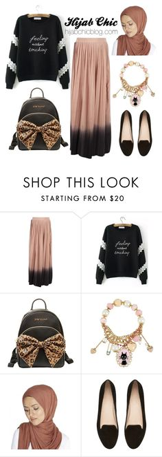 """hijabchicblog.com"" by hijab-chic on Polyvore featuring So Nice, Betsey Johnson and Witchery"
