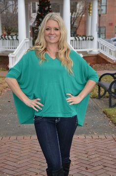 Simple Life tunic, green – Chapter 2 Boutique