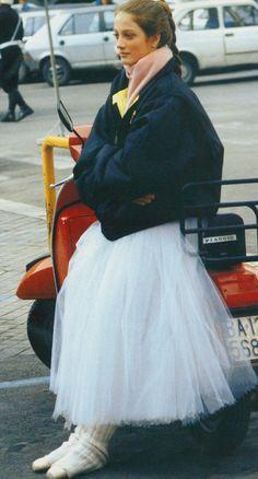 Julie Kent - Photographed by Arthur Elgort for Vogue, July 1987