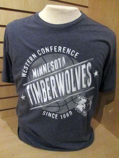 Men s Minnesota Timberwolves Blue T-shirt...  25 ccc8a414c