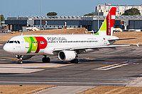 Photo ID: 2697235 Views: 19 TAP Portugal Airbus A320-214 (CS-TNW) shot at Lisbon (- Portela de Sacavem / AT1 / AB1) (LIS / LPPT) Portugal August 13, 2015 By Filipe Santos Rocha