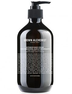 This body cream from Grown Alchemist is the best of both worlds - highly moisturizing but not slimy or greasy.  Absorbs quickly and leaves skin supple. #niche #beauty #luckyscent
