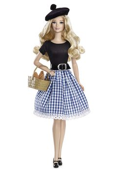 2013 France barbie, not very traditional French clothing.                                                                                                                                                                                 More