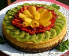 Big, Bold, Beautiful Food: The Non-Baker Bakes: Daring Bakers Cheesecake Challenge (Mango-Calamansi Cheesecake with Macademia-Gingersnap Crust) Non Bake Cheesecake, Mango Cheesecake, How To Make Cheesecake, Cheesecake Recipes, Kiwi Recipes, Mango Cake, Easy Baking Recipes, Yummy Eats, Gourmet
