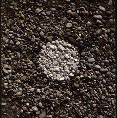 Lake Huron - Organized Beach Stones, 1999 by Floyd Elzinga