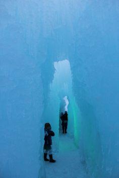 Midway's Ice Castle --- Beeutahful.wordpress.com