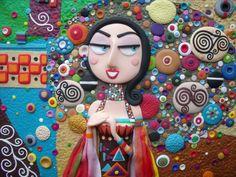 Romance, Inspired by Gustav Klimt