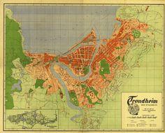 Trondheim Kommune / Trondheim Municipality (1940)