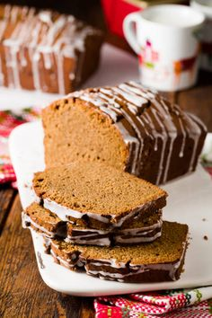 Spicy Almond Gingerbread recipe