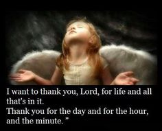 With everything that's in me Lord, I want to thank you!