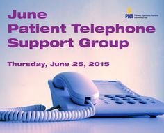 PHA Daily Beat: News for your Health and Heart: Next Thursday: Patient Telephone Support Group