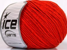 Fiber Content 60% Bamboo 40% Cotton Brand Ice Yarns Dark Orange fnt2-50547