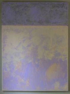 "Violet & Grey  30"" x 40"" x 1.5"" www.gordonsellen.com"
