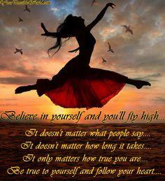 Love this saying!...
