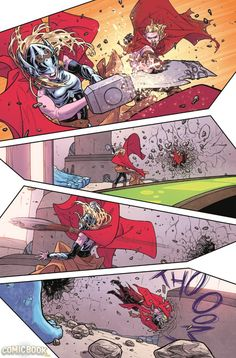 Russell Dauterman. Thor 4 Preview 1 small
