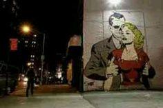 Comic book street art #graffiti