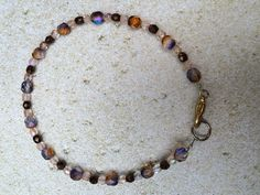 A personal favorite from my Etsy shop https://www.etsy.com/listing/246345470/anklet-free-shipping