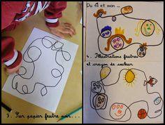 Art Plastique, Crafts, School, Art Activities, Artists, Color Pencil Picture, Satchel, Manualidades, Handmade Crafts