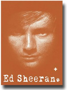 Ed Sheeran Poster - Album Promo Flyer