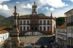 This is Praça do Tiradentes ( Tiradentes square) it's from Minas Gerais, Brazil. There are many places to visit here, like that