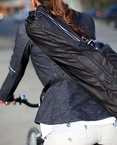 Biking to work this summer and I'll need this!