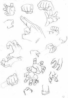 Manga Drawing Techniques manos db 2 by - Ball Drawing, Drawing Poses, Manga Drawing, Figure Drawing, Anatomy Drawing, Drawing Tips, Drawing Techniques, Drawing Tutorials, Painting Tutorials
