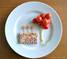 cherry tomato balloons