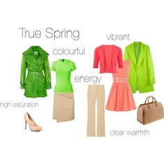 True Spring - an excercise, created by silverwild on Polyvore